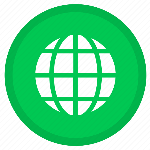 earth, globe, web, world icon