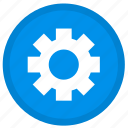 settings, gear, options, preferences, tool, tools, round