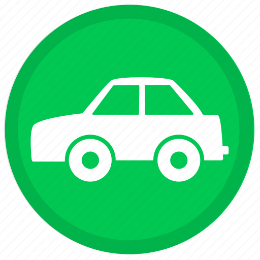 auto, automobile, car, round, transport, transportation, vehicle icon