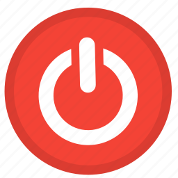 electricity, off, on, power, round, strart, switch icon