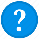 help, info, information, question, round, service, support icon