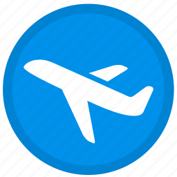 air, airplane, flight, fly, plane, shipping, travel icon