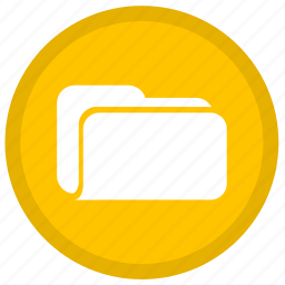 document, documents, file, files, folder, round icon