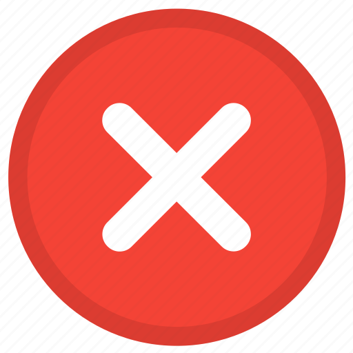 Cross, cancel, close, delete, exit, remove, stop icon - Download on Iconfinder