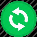 refresh, arrow, arrows, reload, round