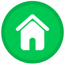 home, building, house, office, round