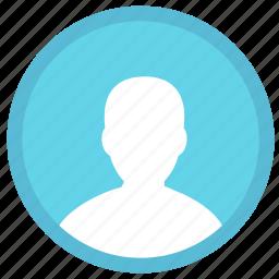 account, avatar, male, man, person, profile, user icon