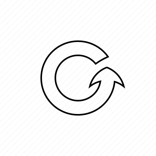arrow, circle, interface, recycle, refresh, repeat, round icon