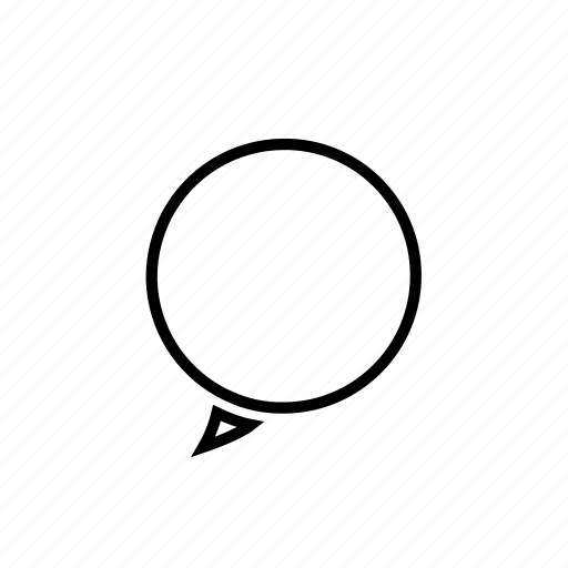 bubble, chat, connect, interface, message, speech, text icon
