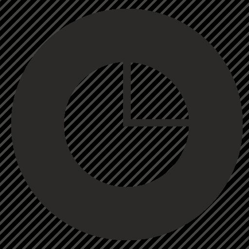 chart, diagramm, economic, pie, storage icon