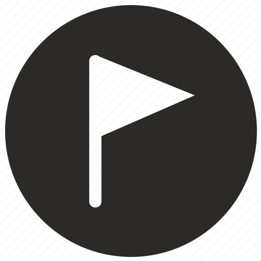 flag, location, mobile, pointer, target, ui icon