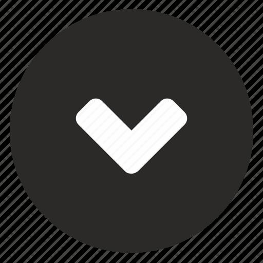 bottom, go, mobile, navigation, ui icon