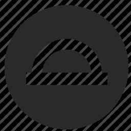 angle, geometry, instrument, measure, mobile, ui icon