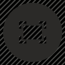 border, frame, mobile, photo, ui icon