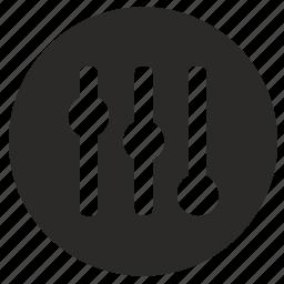 change, configuration, contrast, levels, mobile, vertical icon