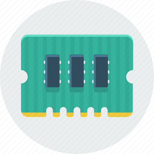 chip, chipset, cpu, hardware, microchip, technology icon