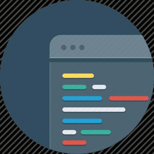 code, coding, development, technology, window icon