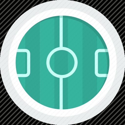 field, football, sport, stadium icon