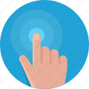 gesture, hand, sensor, sensor control, technology icon