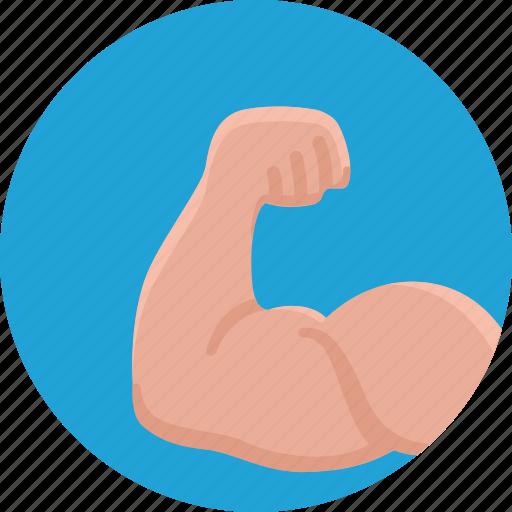 body, bodybuilding, health, muscle, sport icon