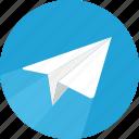 message, sending, sent
