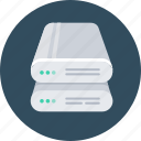 hdd, server, storage icon