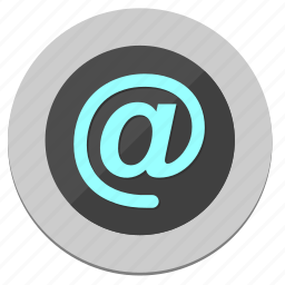 circle, email, function, mailbox, round icon