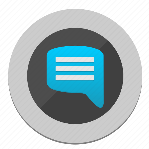 comment, dialog, form, function, im, message icon