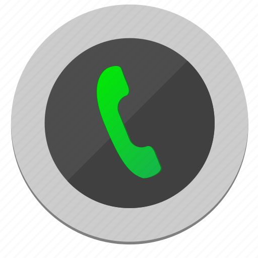 Dial, function, green, mobile, phone icon - Download on Iconfinder