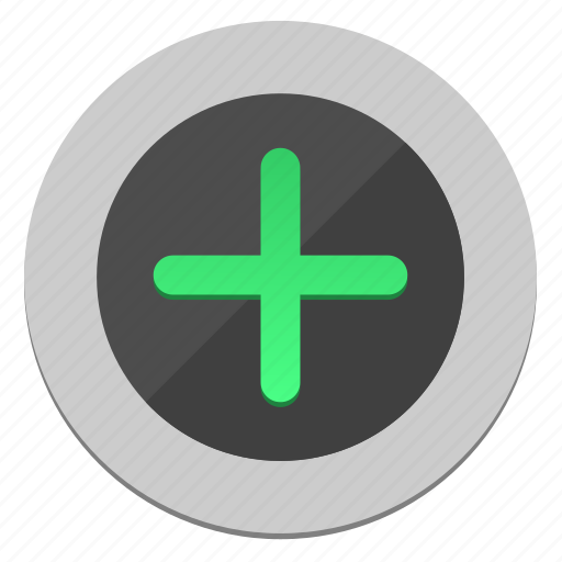 add, circle, function, plus, round icon
