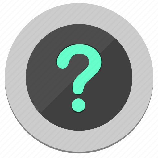 ask, circle, function, question, round icon