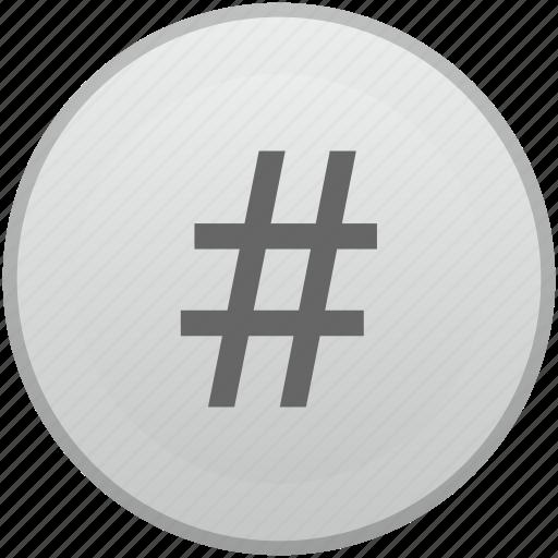 key, keyboard, label, mobile, number, order, sign icon