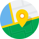 direct, directions, map, maps, mintie, navigate icon