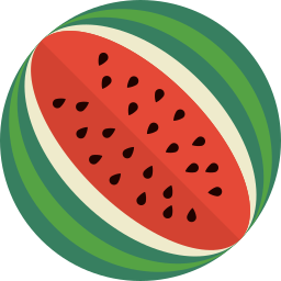 desert, food, fruit, holiday, melon, mintie, water icon