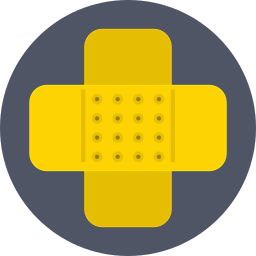aid, band aid, bandage, first aid, health, plaster, plasters icon