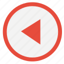 arrow, left, motion, navigation icon