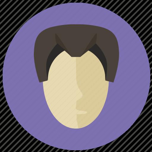 asia, asian, face, man, round, samurai, skin icon