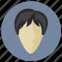avatar, boy, european, face, round, skin icon