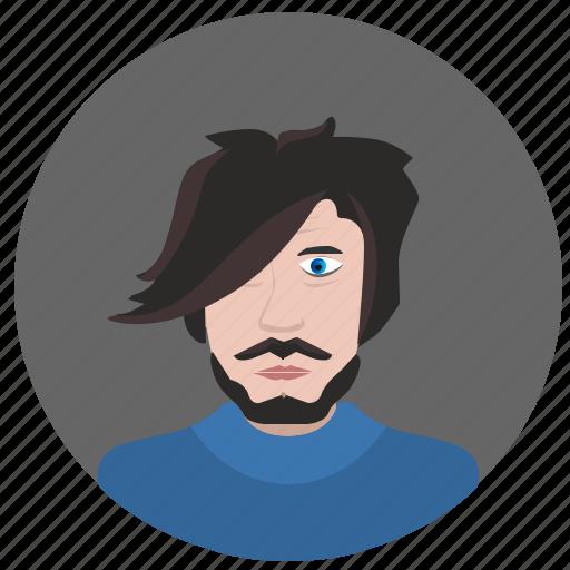 face, hair, man, round, stylist icon
