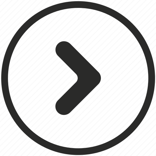 arrow, circle, direction, navigation, next, right icon