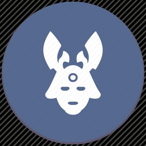avatar, mask, ronin, warrior icon