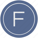 english, f, latin, letter, uppercase