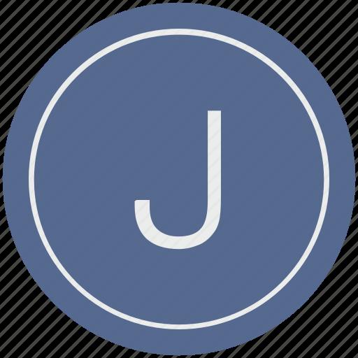 english, j, latin, letter, uppercase icon