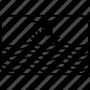flag, kir, kiribati, world icon