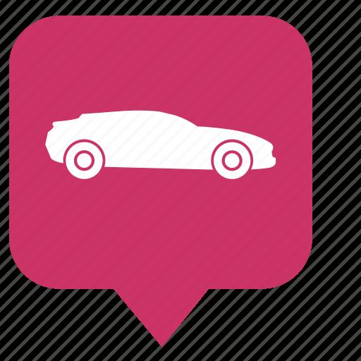auto, car, pointer, race icon