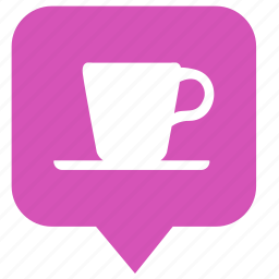 cafe, coffee, cup, pointer, tea icon