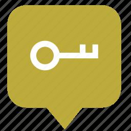 geo, key, location, map, pointer icon