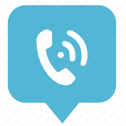 call, geo, location, map, phone, pointer icon