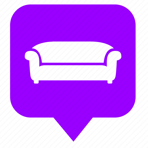 furniture, geo, pointer, sofa icon