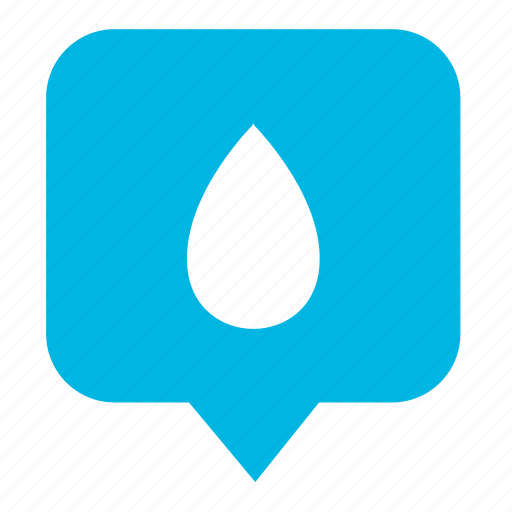 drop, fluid, geo, place, pointer, water icon